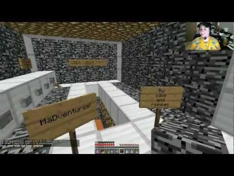 Minecraft: Mapa La Libreria Ep. 2 con Town. Bers y Tum Tum!!
