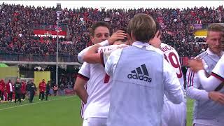 Il gol di Kalinic - Benevento - Milan 2-2 - Giornata 15 - Serie A TIM 2017/18