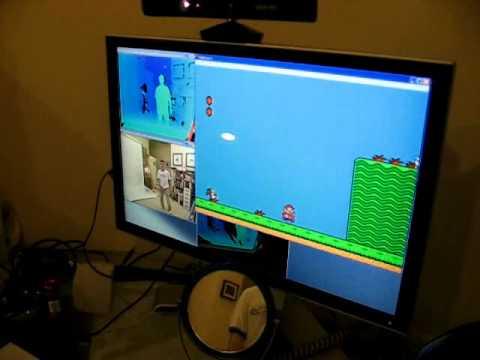 Utilizando Kinect como un control de NES