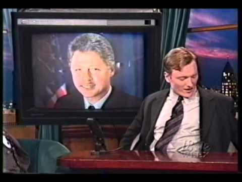 Bill Clinton & Bob Dole on Conan
