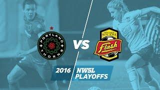 NWSL Semifinal: Portland Thorns FC vs. Western New York Flash - Oct. 2, 2016
