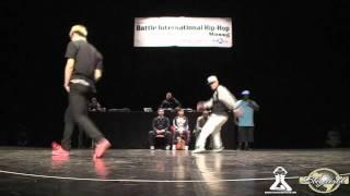 Bboy Yoshi vs. Bboy Hill | Massy 2011