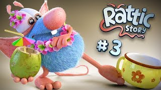 Funny Cartoon Compilation For Kids | Rattic  - All Episodes #3 | Funny Cartoons For Children & Kids