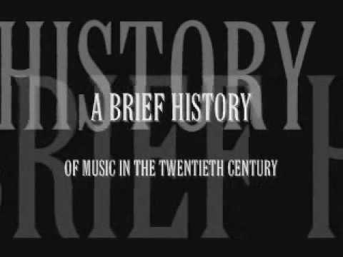 Brief History of 20th Century Music 1: Birth of the Modern Music Videos