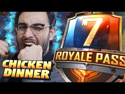 PUBG MOBILE LIVE: CHICKEN DINNER ONLY CHALLENGE! | SEASON 7 ROYAL PASS RANK PUSH | NEW UPDATE