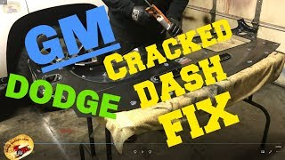 How To Repair a Cracked Dash, Car,Truck SUV... DIY