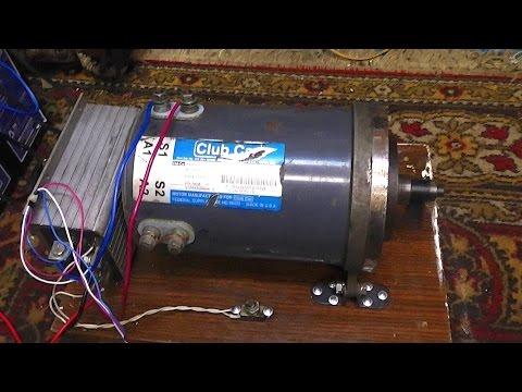 Двигатель для электро автомобиля 48 В
