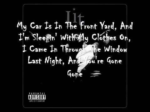 Lit - My Own Worst Enemy Lyrics