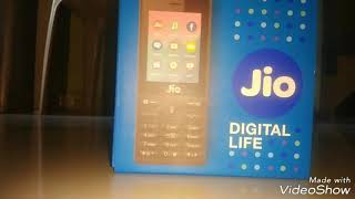 Jio phone unboxing & first look, a budget phone
