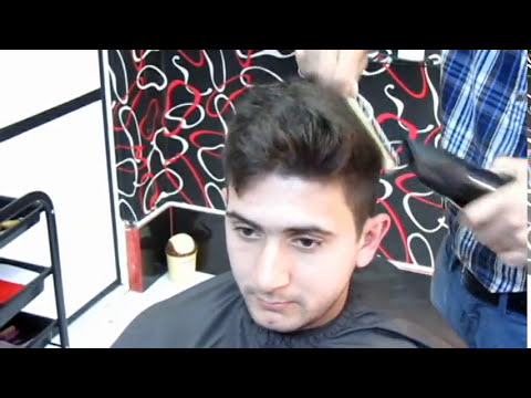 LIONEL MESSI cutting hair style model STILIST ELNAR
