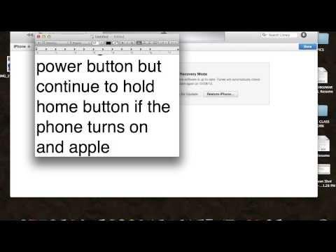 HOW TO FIX IOS7 evasi0n JAILBREAK STUCK ON APPLE LOGO IPHONE 5s/5c/ipad/ipod.