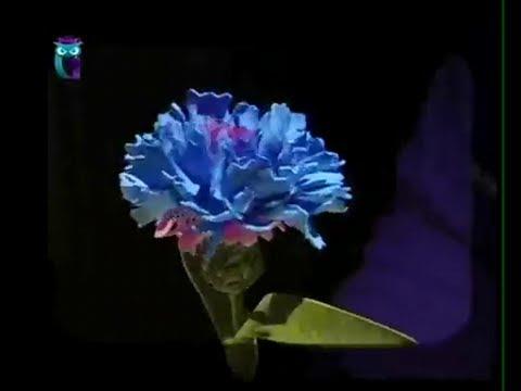 Василек из фома Мастер-класс   www floristika name