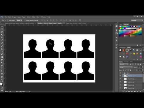 Easy way to Create Passport size Photos in Photoshop