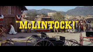 McLintock! (1963) - Official Trailer