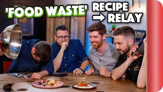 FOOD WASTE Recipe Relay Challenge | Pass It On Ep.14