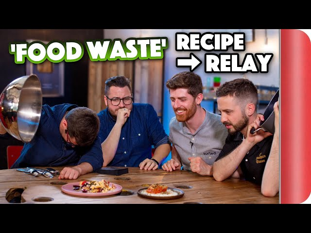 FOOD WASTE Recipe Relay Challenge  Pass It On Ep.14