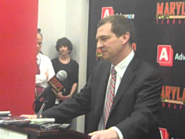 Turgeon thanks fans after Duke win