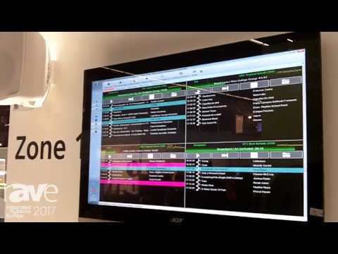 ISE 2017: EBH Radio Software Demos Rosi Background Music System