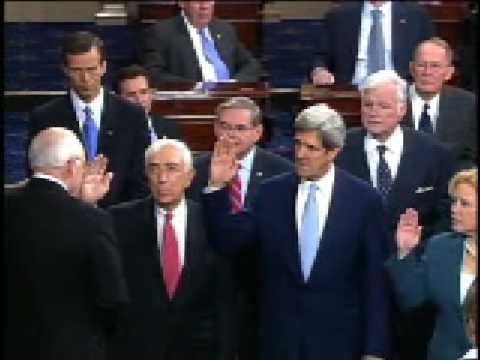 Senator Johnson is Sworn In For Third Term