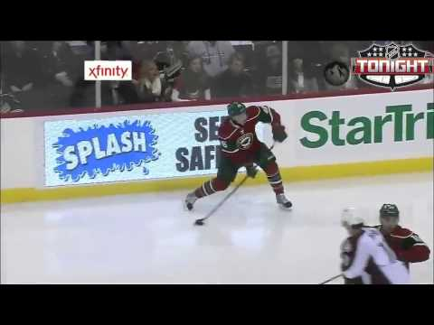 Mikael Granlund scores his first NHL goal 1/19/13