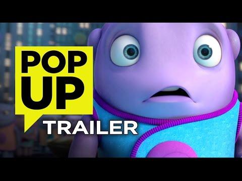 Home Pop-Up Trailer (2015) - Jim Parsons, Rihanna Animated Movie HD