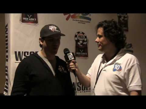 WSOP 2010 Poker10.com - Entrevista a Juan Carlos Mortensen Video