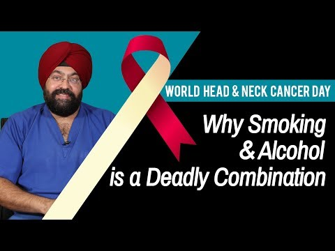 World Head and Neck Cancer Day | Why Smoking and Alcohol is a Deadly Combination