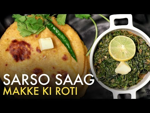 Sarson Ka Saag Aur Makki Ki Roti | Dhaba Style Makki Di Roti | सरसों का साग मक्की की रोटी | Food Tak