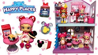 Disney Happy Places Minnie Mouse Theme Packs Kitchen Breakfast Cupcake Sets + Exclusive Shoppies