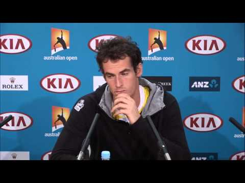 Andy Murray Press Conference - Australian Open 2013