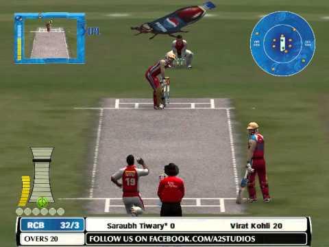 IPL 2014: RCB Batting Highlights - RCB vs KXIP - IPL 7 2014 28 April