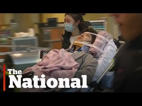 Turbulence injures about 20 Air Canada passengers on flight from China