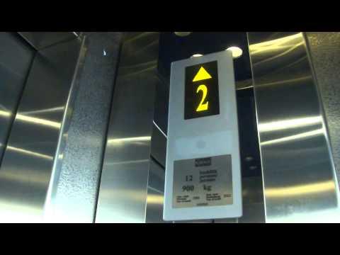 Amazing old Classic Modernized KONE Traction Scenic Elevator/Lift, Radisson BLU Hotel Royal, Vaasa
