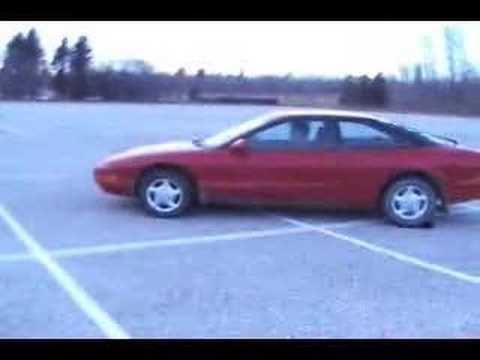 MCDONALDS TRAY SLIDING in a Ford Probe