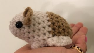 Tutorial on How to Crochet an Amigurumi Baby Guinea Pig
