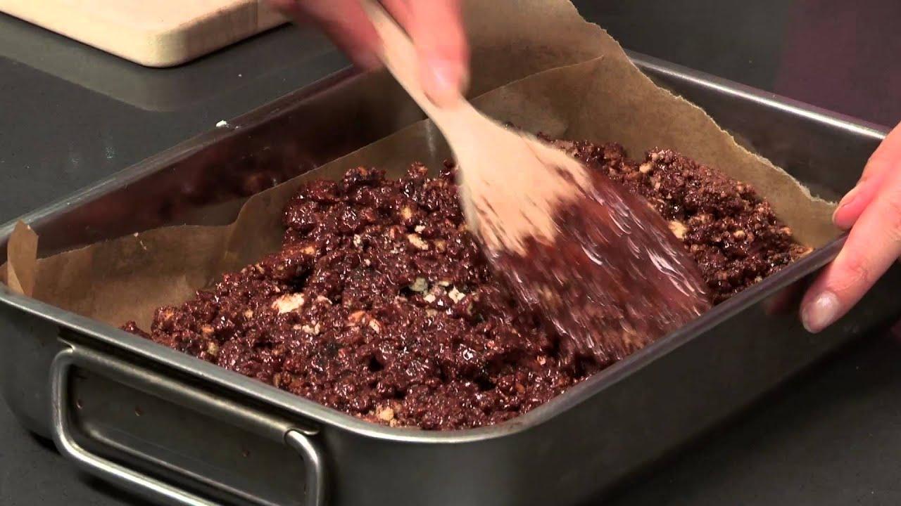 How To Make Chocolate Tiffin: Keep Calm & Bake S02E4/8 - YouTube