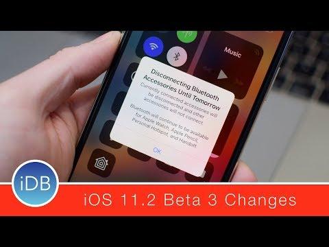 Everything New in iOS 11.2 Beta 3 - Control Center Tweaks