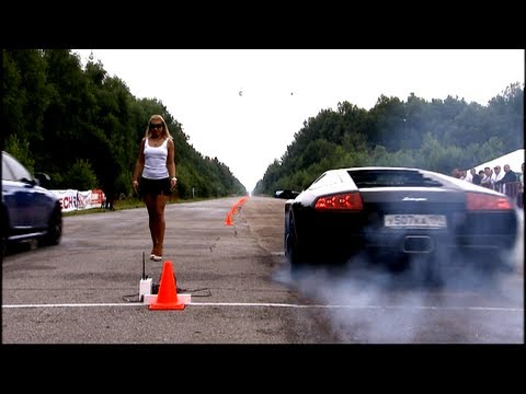 Lamborghini Murcielago LP640 vs Audi RS6 Evotech Music Videos
