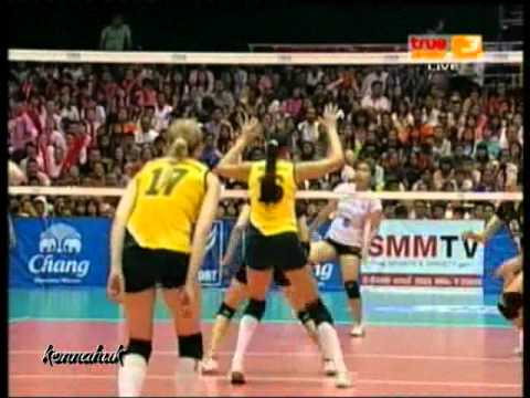 Chang (THA) vs Zhetyssu (KAZ) 3rd-4th Princess Cup 2012 Set 3 3of3