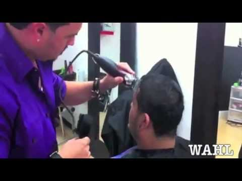 PACINOS THE BARBER USING THE WAHL RAPID FIRE CLIPPERS