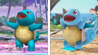 Super Smash Bros Ultimate | Squirtle Evolution | 2008-2018