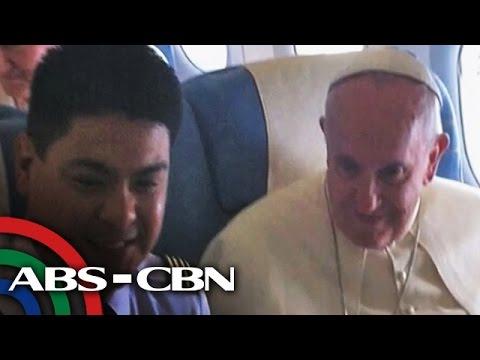 Bakit hindi malilimutan ng PAL crew si Pope Francis?