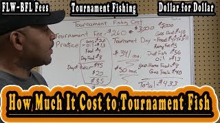 How Much It Cost To Tournament Fish