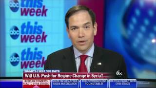 On ABC This Week, Rubio discusses Syria & intelligence committee investigation into Russia