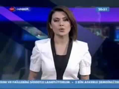 TRT spikeri canlı yayında olduğunu unutunca