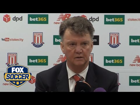 Van Gaal bemoans another Manchester United defeat after Boxing Day loss to Stoke City