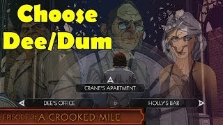 The Wolf Among Us Episode 3 Dee and Dum First Pick Choose office A Crooked Mile