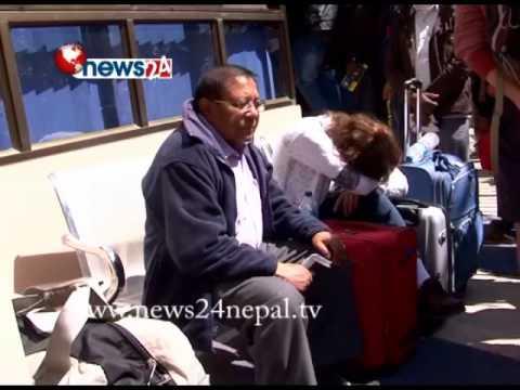 जहाज नचल्दा हजारौं नेपाली अलपत्र - POWER NEWS