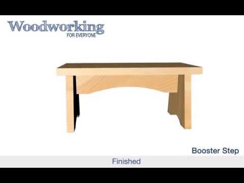 Woodworking for Everyone: Booster Step Animation (Butt Joints)