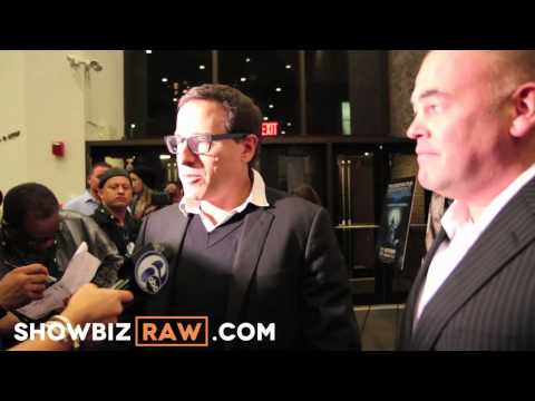 Silver Linings Playbook: Matthew Quick &amp; David O Russell interviewed on the Red Carpet